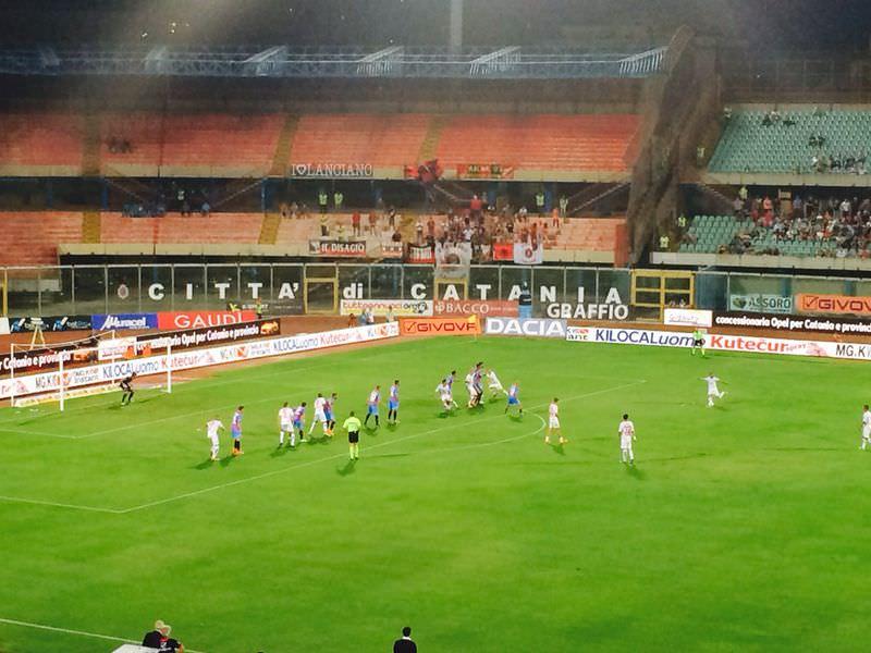 Il Catania parte in sordina. Con il Lanciano finisce 3 a 3