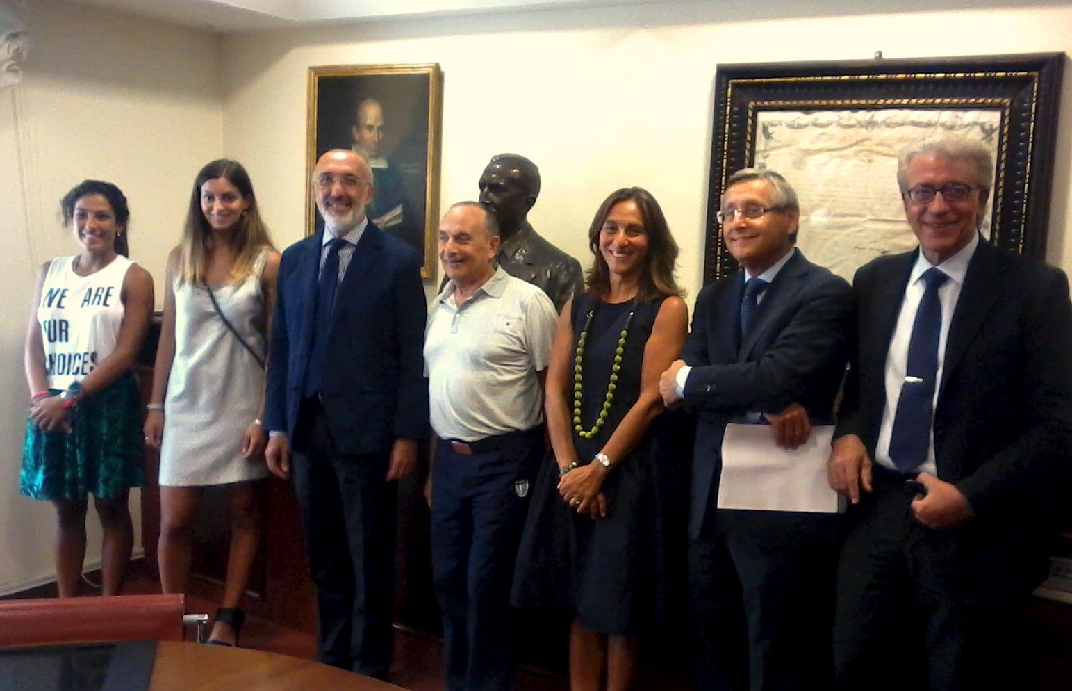 Sport e studio si incontrano a Catania