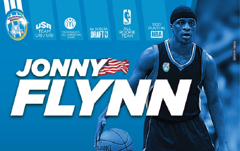 Dall'NBA a Capo d'Orlando<br>Ecco Jonny Flynn