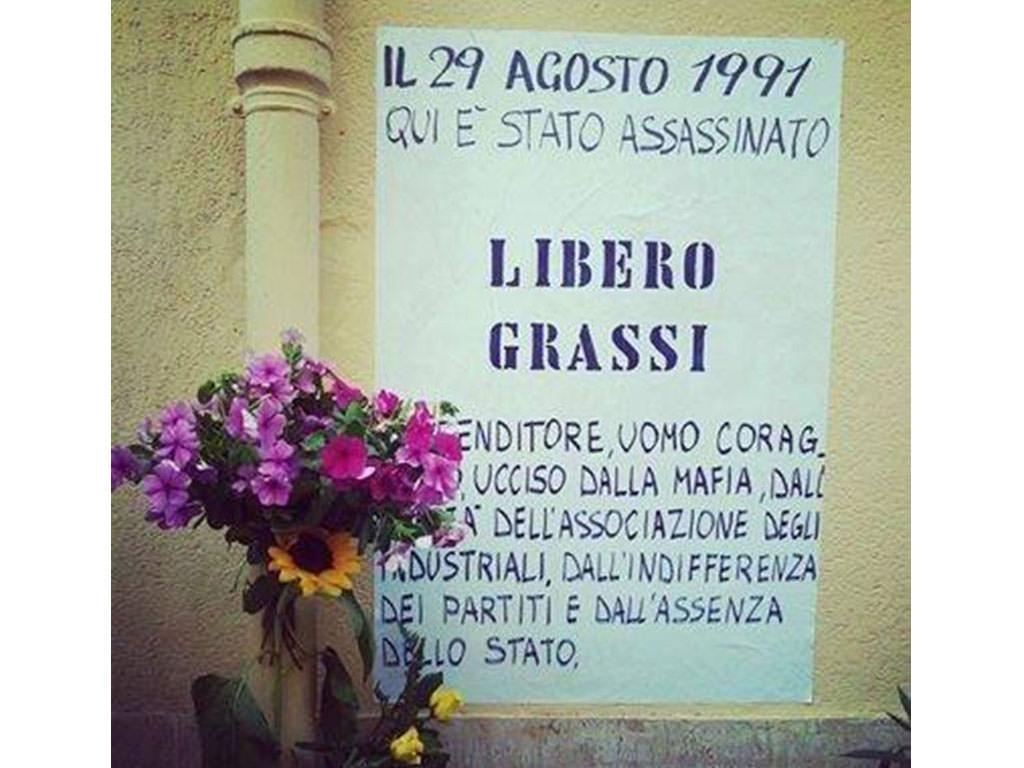 Libero Grassi, il ricordo a 23 anni dalla scomparsa