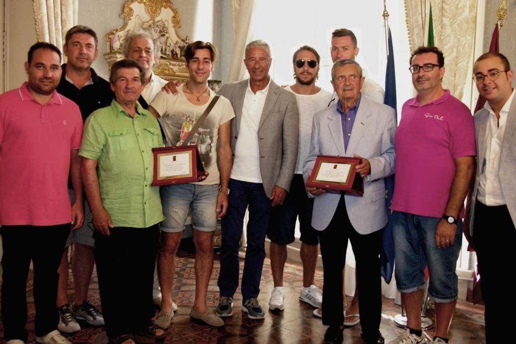 Promosse due squadre: il riconoscimento del sindaco di Trapani