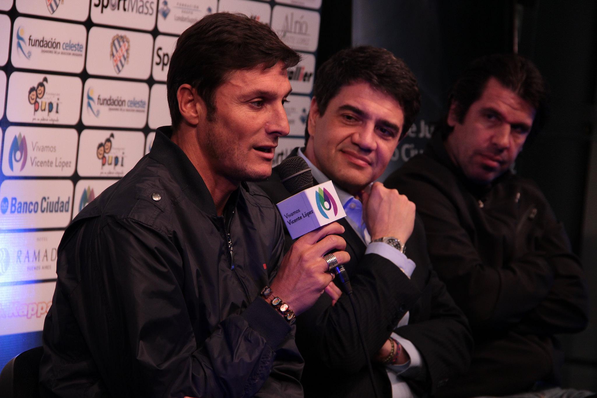 Javier Zanetti all'Oscar dello Sport di Mazara