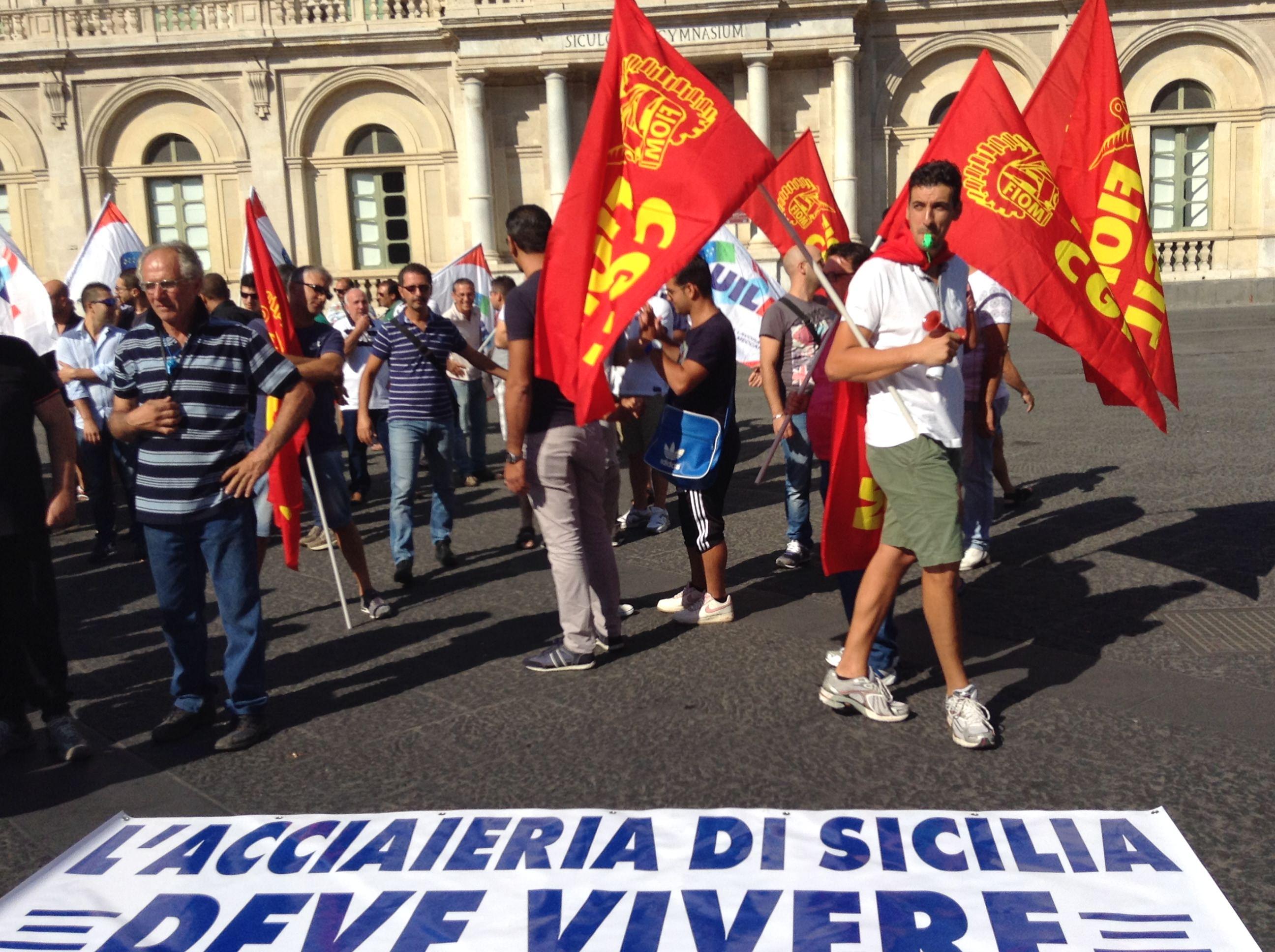 Vertenza acciaierie, a Catania verrà l'assessore Vancheri