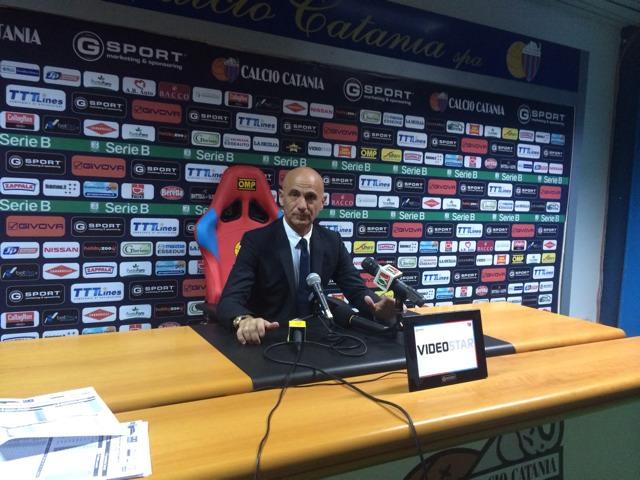 """Catania, Sannino: """"Facciamo di necessità virtù, con equilibrio si vince"""""""