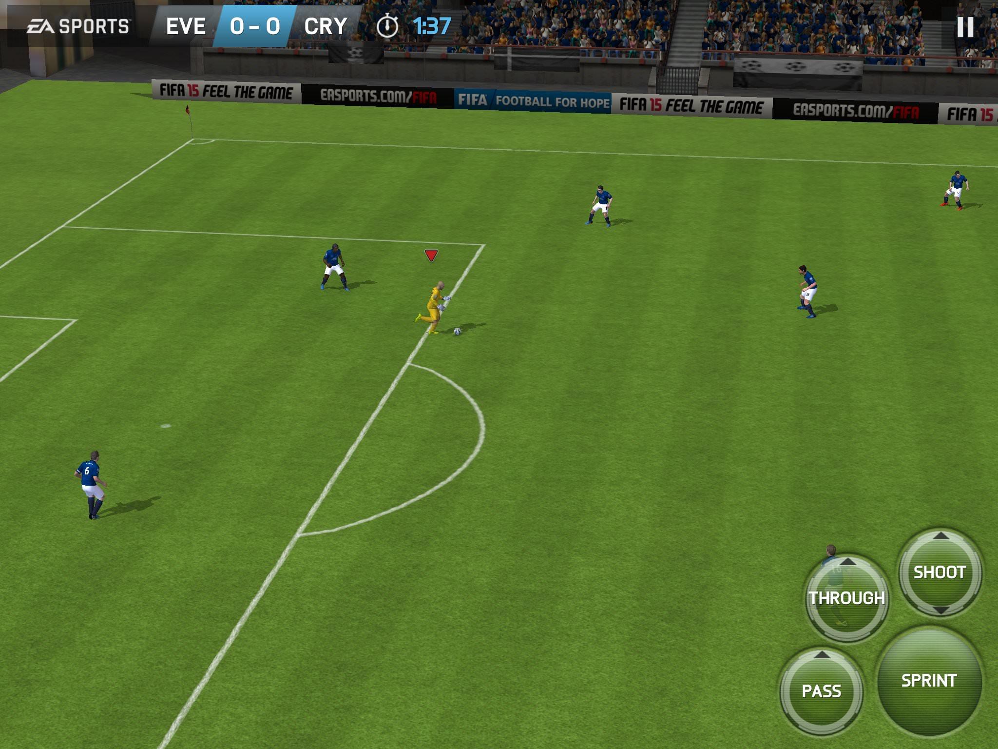 FIFA 15: l'esperienza del calcio su smartphone e tablet