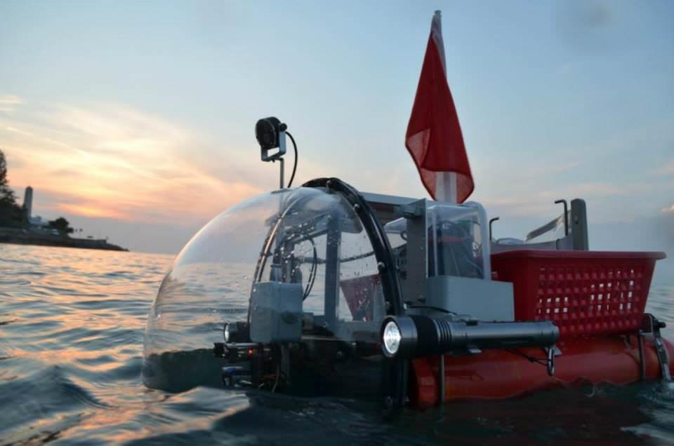 Geoswim, un progetto per rilevare a nuoto i 70 km di costa delle Egadi
