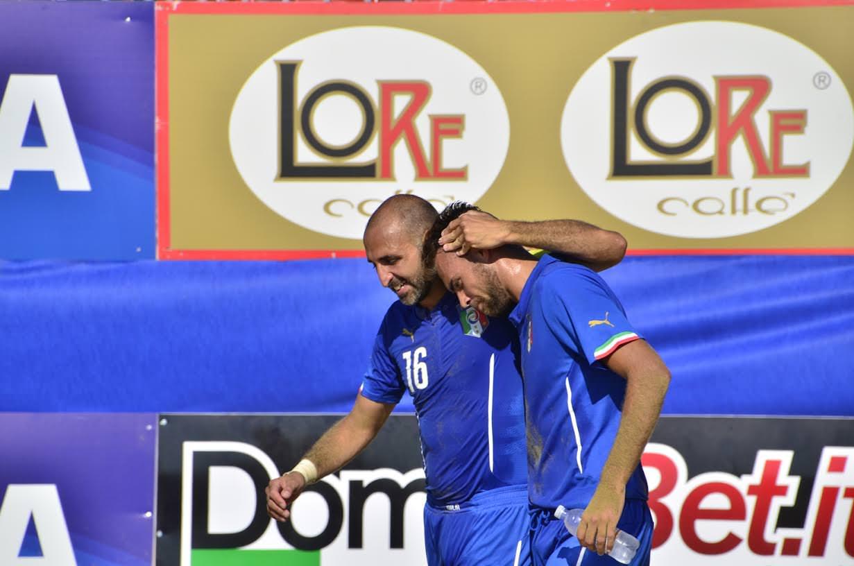 Beach Soccer: Italia alla seconda fase. Bene il catanese Platania