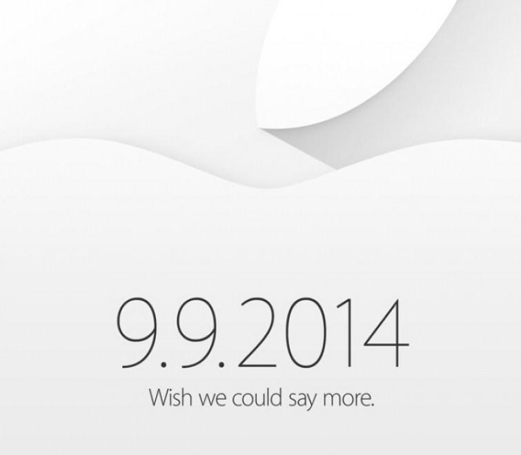 Apple, annunciato evento per il 9 Settembre