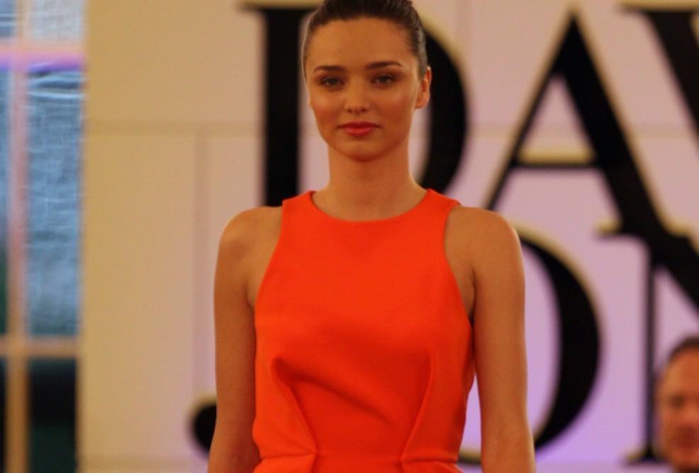 Alla Fashion Week: tessuto d'arance di Sicilia!