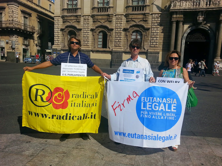 """Radicali, """"Biotestamento anche a Catania"""""""