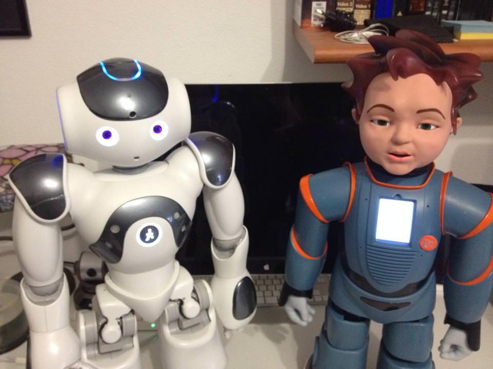 A Catania i robot ci mettono la faccia