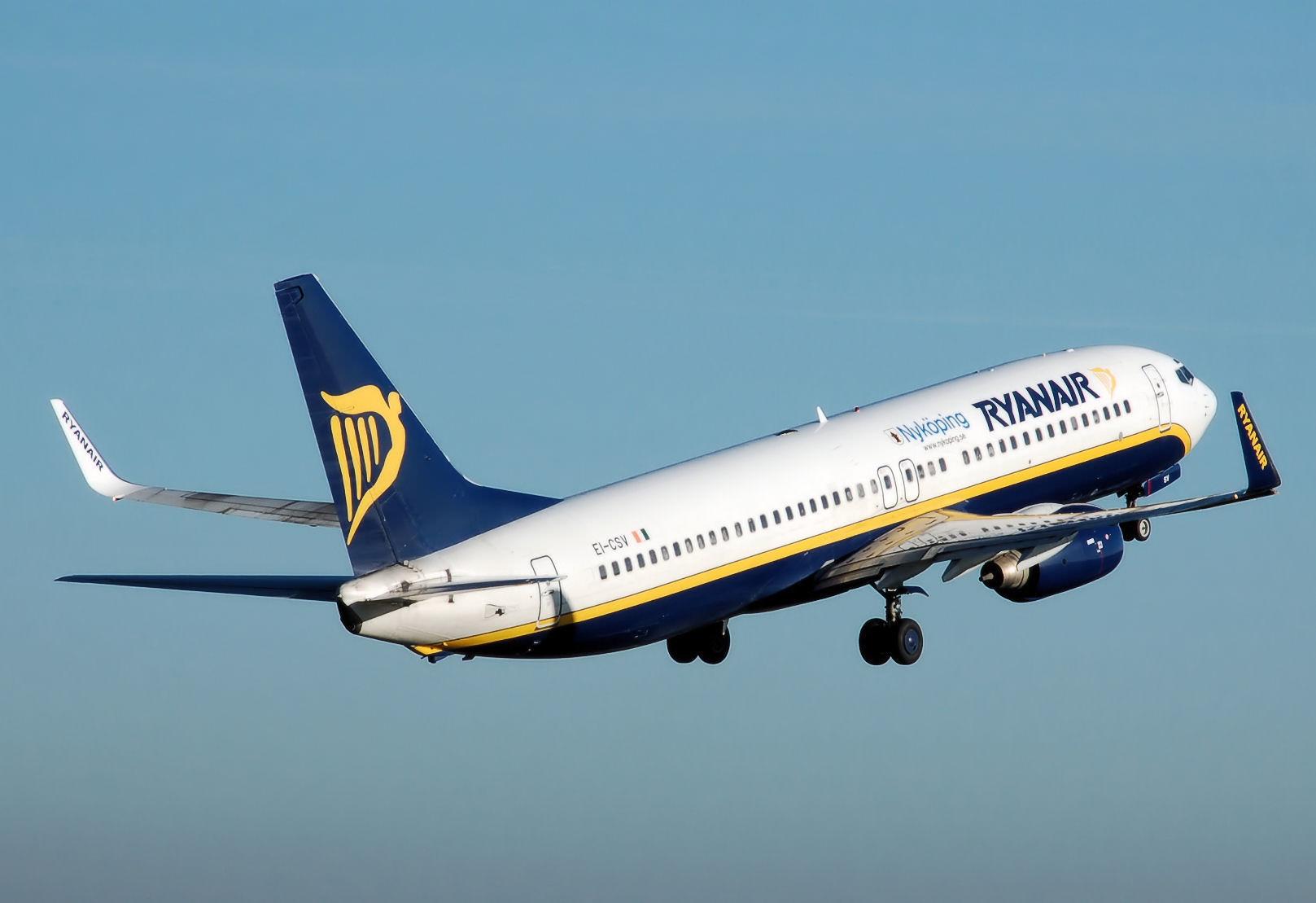 Anche Ryanair cambia rotta: – 6 rotte a Trapani