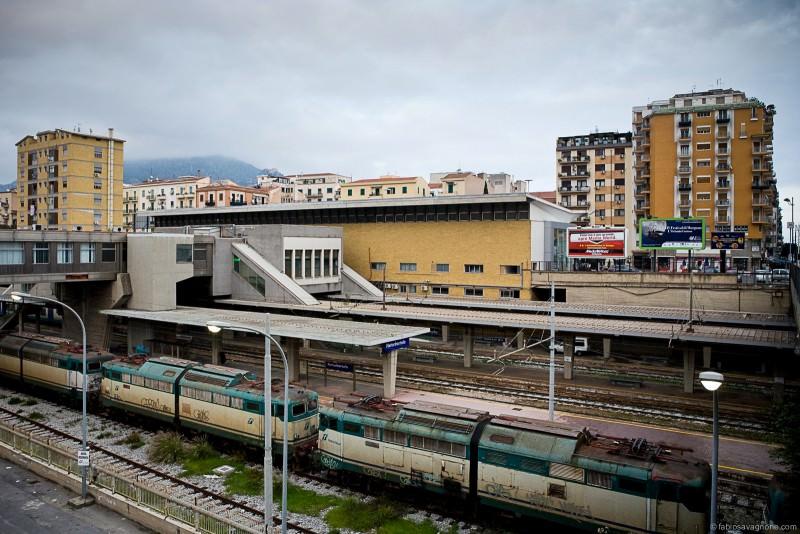 Palermo, treni in galleria. E la città trema…