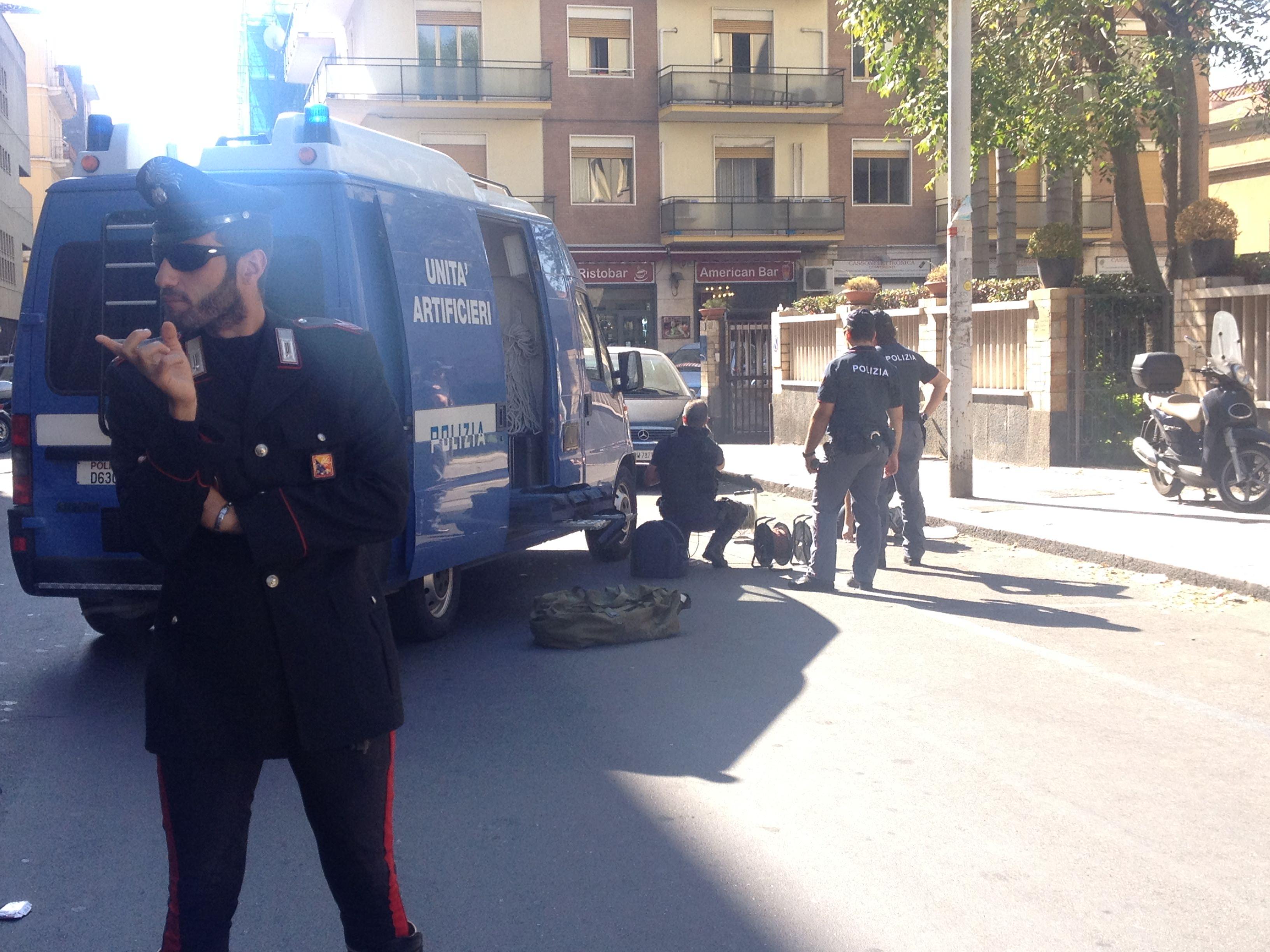 Palermo, allarme bomba al liceo Cassarà durante la conferenza del procuratore Teresi
