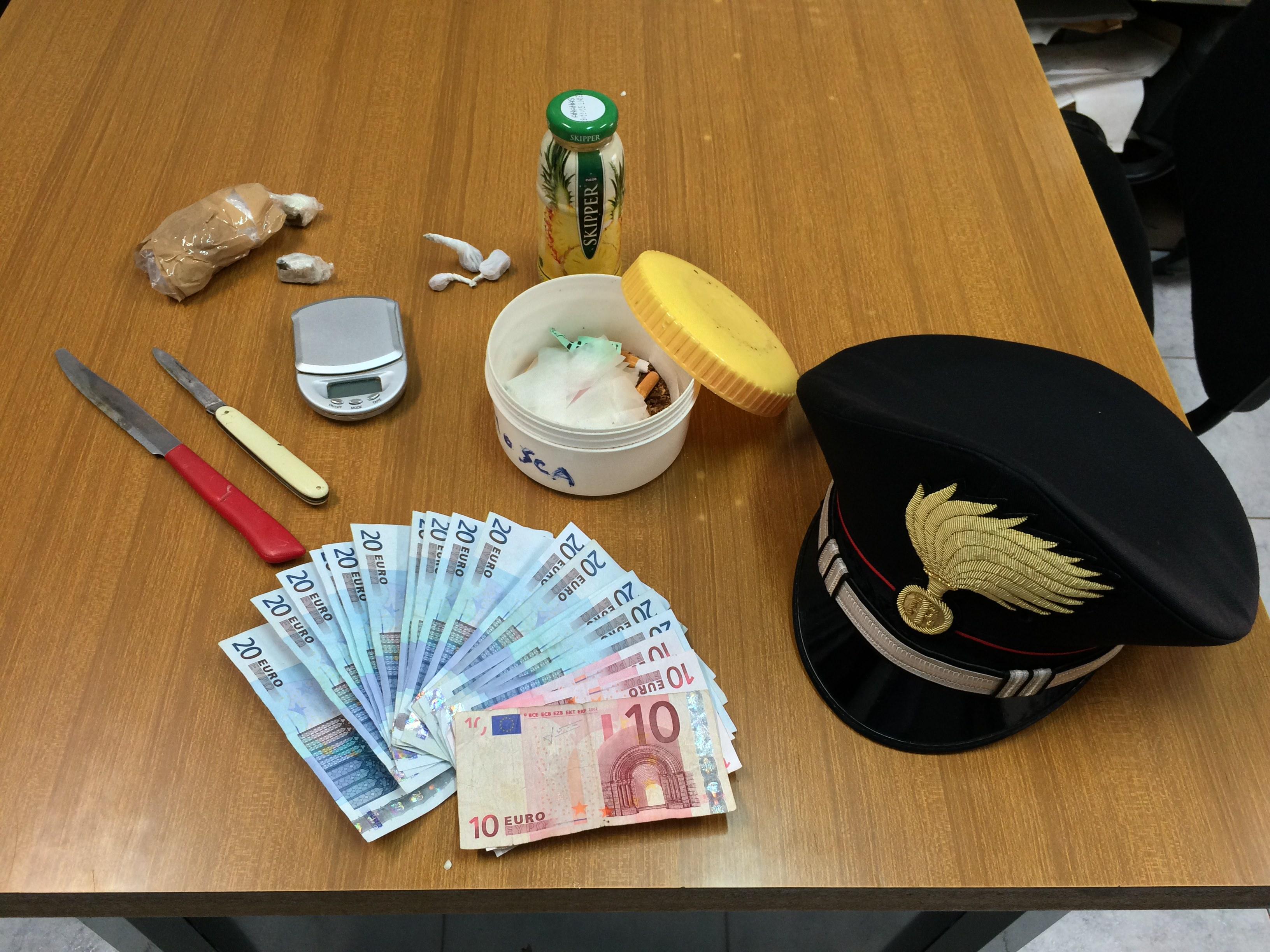 Siracusa, due arresti dei carabinieri per droga