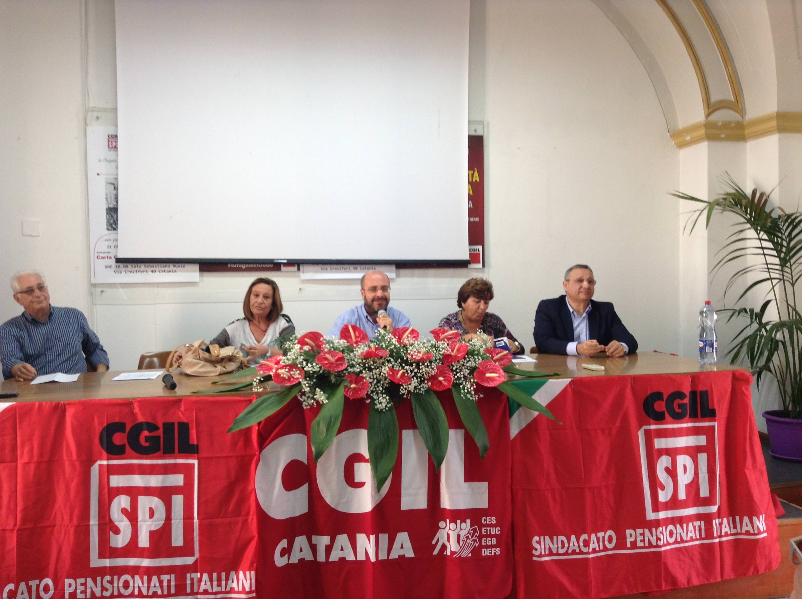 La CGIL prepara anche da Catania la mobilitazione del 25 ottobre