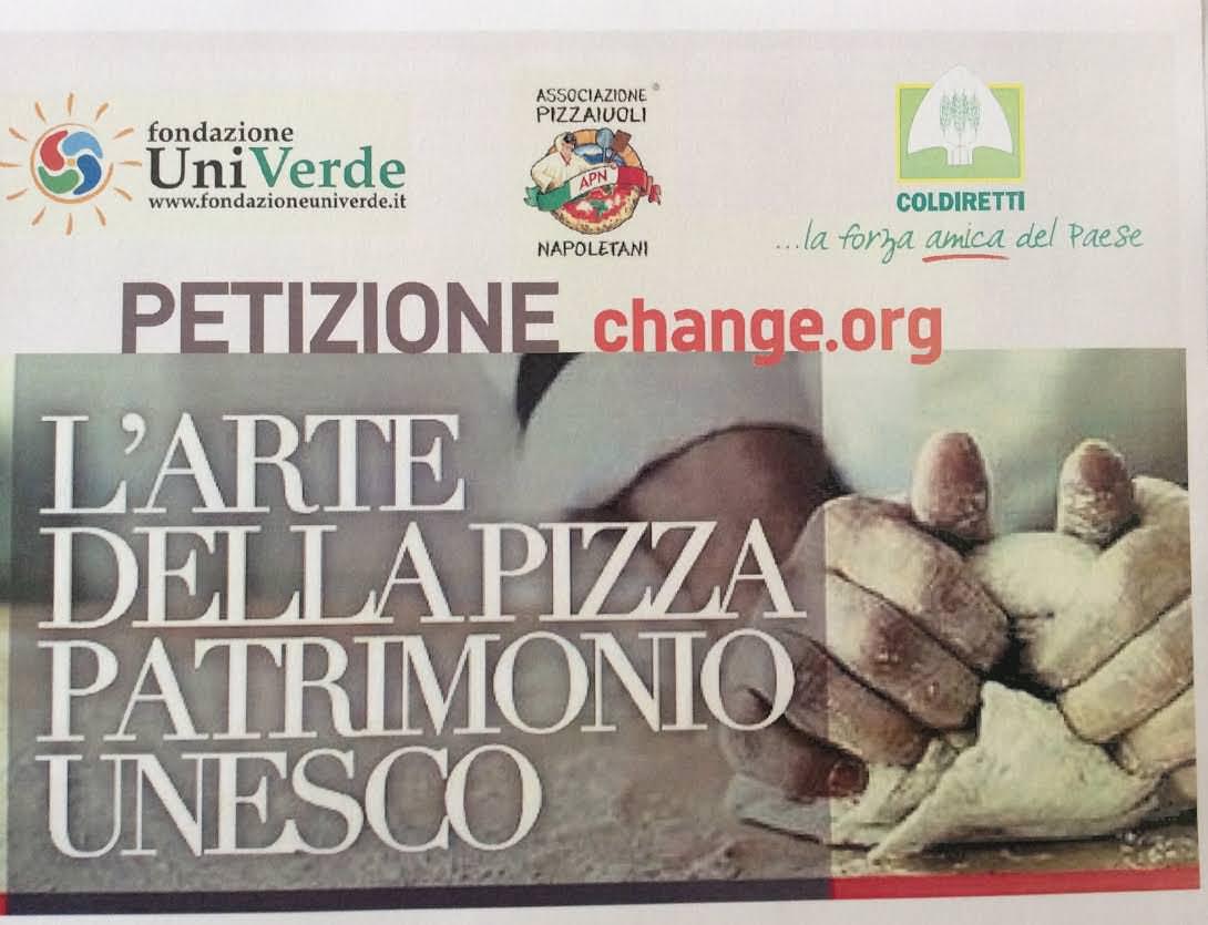"""Coldiretti: """"La pizza nel patrimonio Unesco"""""""