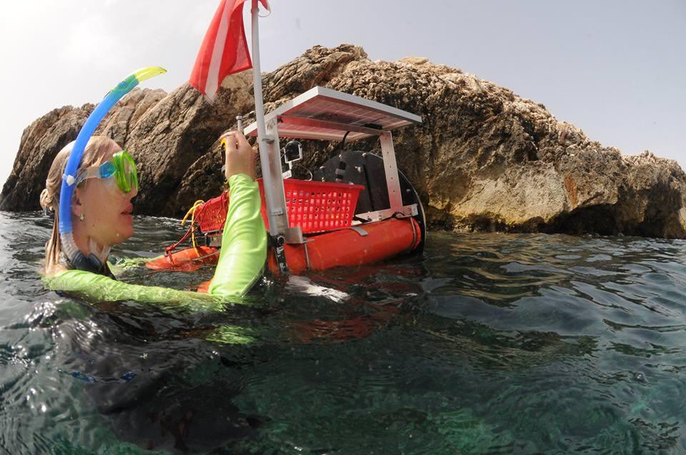 """Isole Egadi, completato il progetto """"Geoswim"""""""