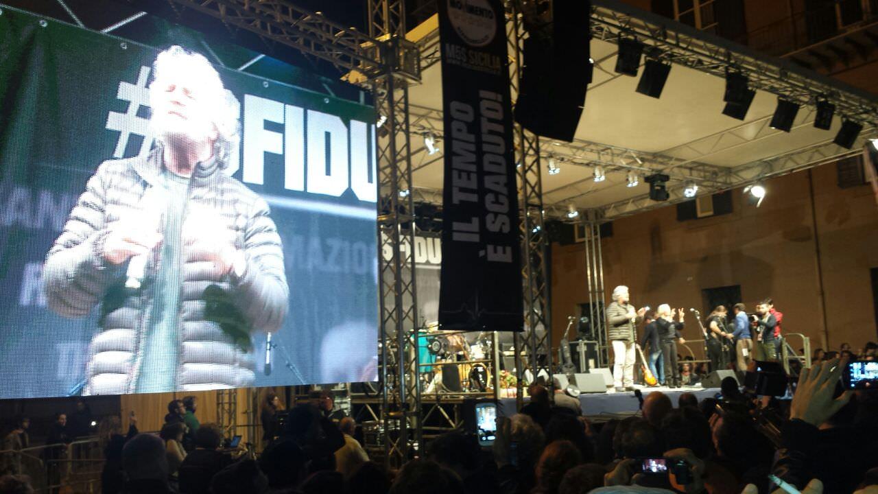 """Valeria Grasso (IDV) : """"Sono indignata per le parole di Grillo"""""""