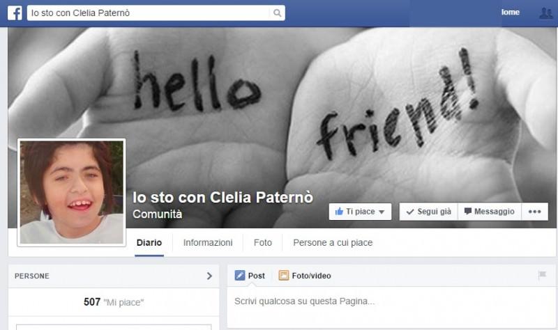 """Mobilitazione a Canicattì: """"Aiutiamo Clelia Paternò!"""""""