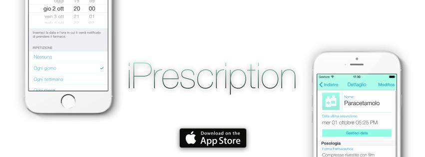 iPrescription: l'app per gestire le terapie farmacologiche