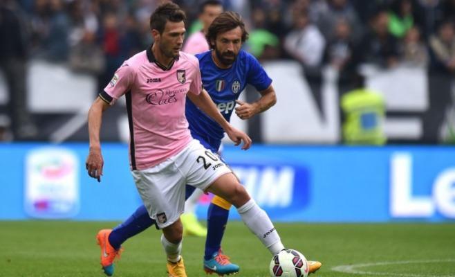 Il Palermo cade nella tana della Juventus. Di Vidal e Llorente le reti bianconere