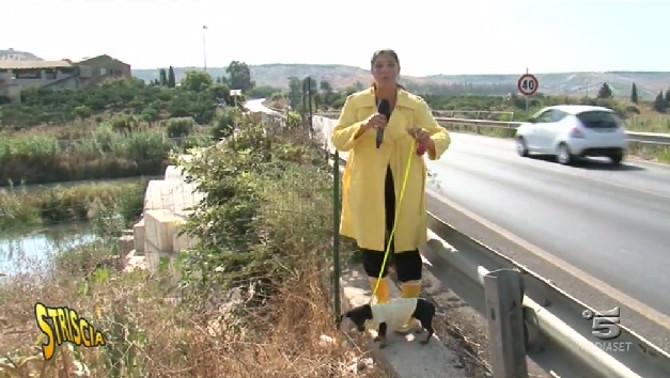 Stefania Petyx torna sul ponte Verdura: è sempre tutto fermo!
