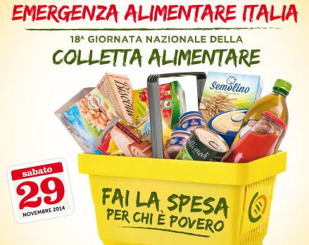 """Anche a Catania sabato 29 la """"colletta alimentare"""""""