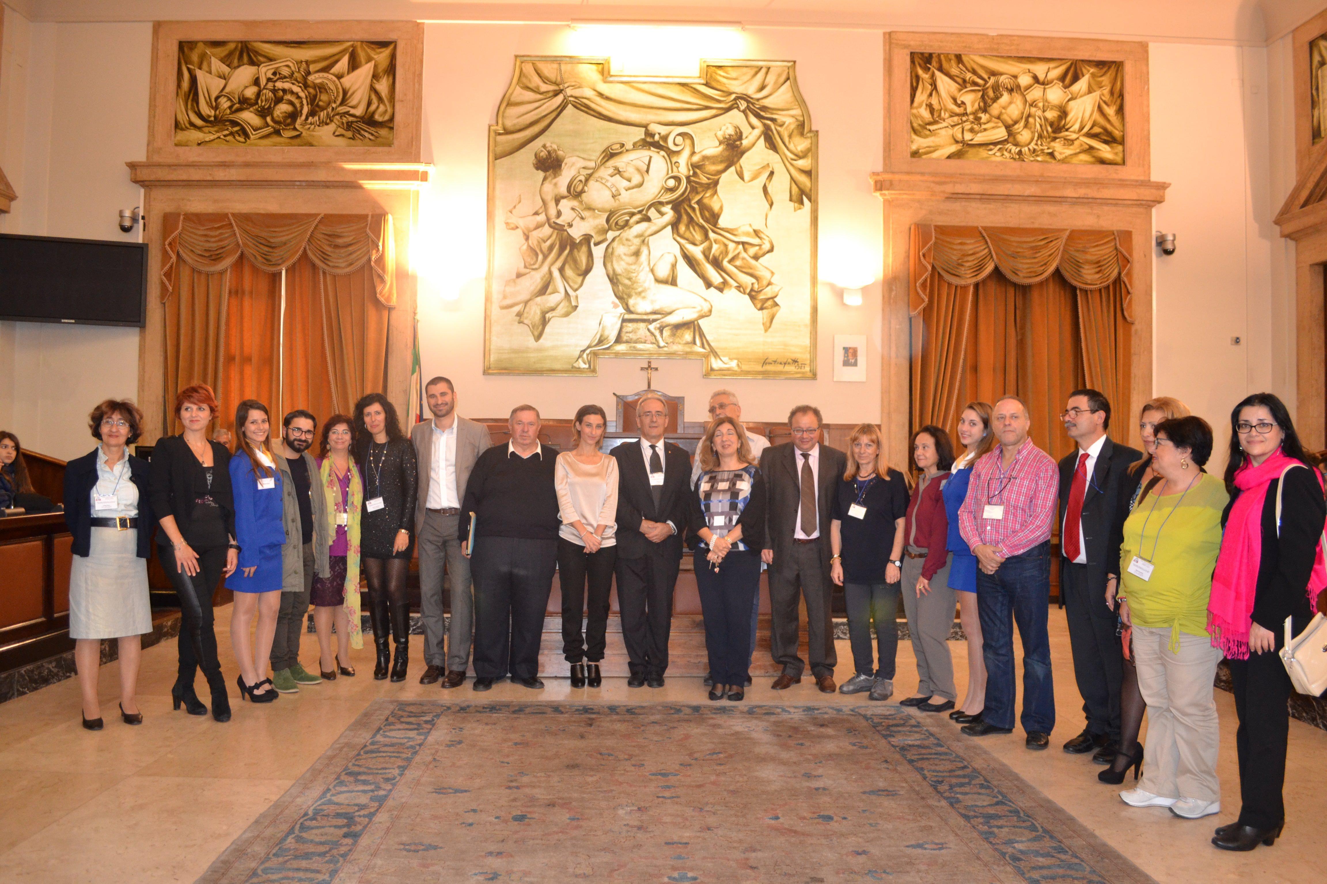 """Il """"Comenius"""" al Palazzo degli Elefanti"""
