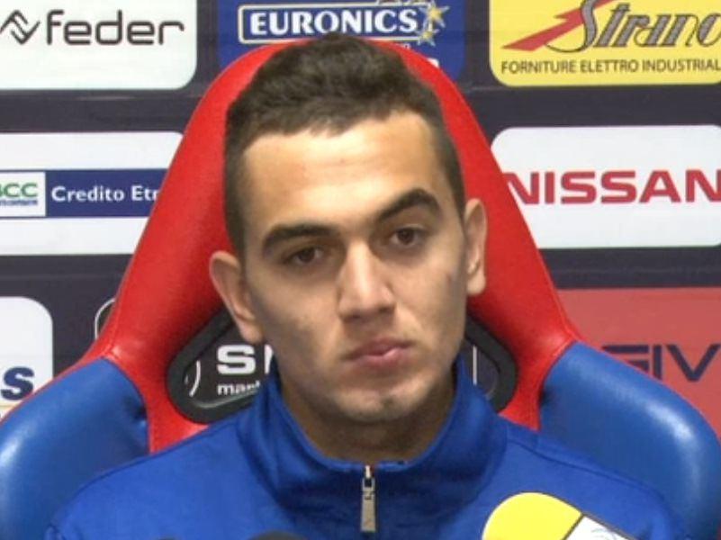 """Catania, Escalante: """"Giocare in casa o fuori? Per me è uguale. Vincere a Trapani"""""""