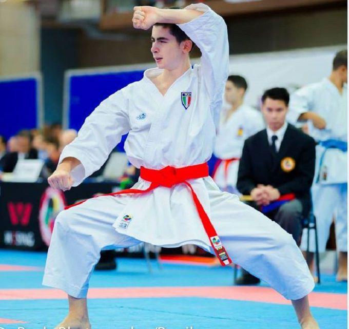 Karate, il vittoriese Panagia a Venezia con la nazionale