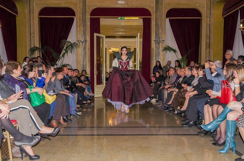 Serata di alta moda all'hotel delle Palme