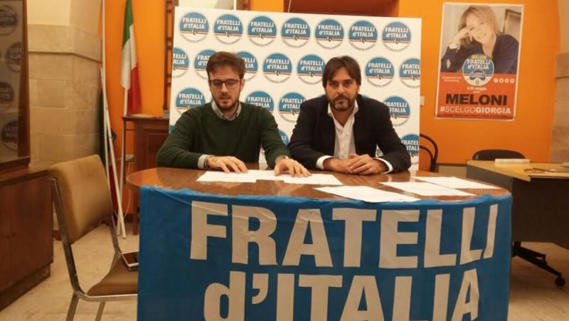 Vittoria, la solidarietà di Fratelli d'Italia a Mustile