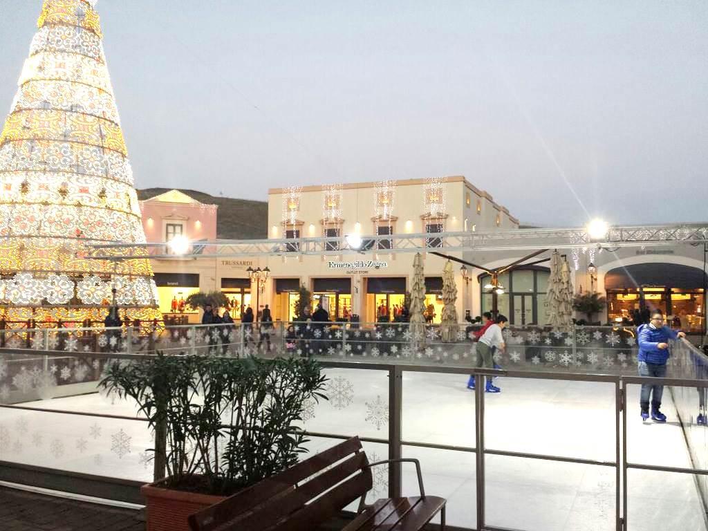 Al Sicilia Outlet Village un Natale sul ghiaccio