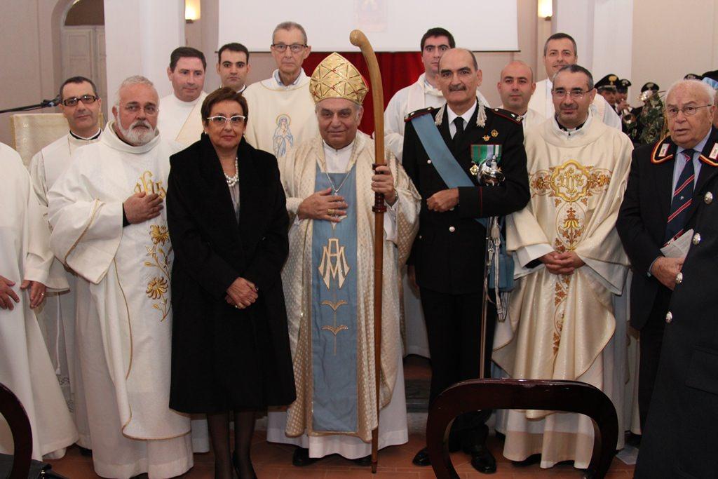 """Celebrata a Palermo la """"Virgo Fidelis"""" dei carabinieri"""