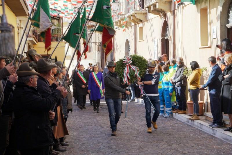 Affollato raduno degli Alpini di Sicilia a Montagnareale