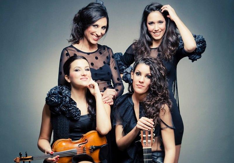 Quattro regine del flamenco dal 16 al 19 in Sicilia
