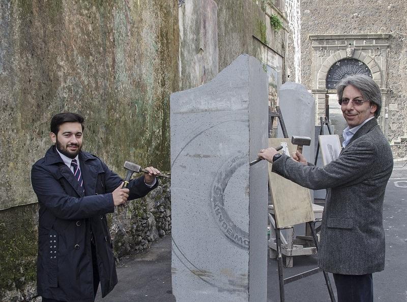 Belpasso, si scoprono le 7 statue in pietra lavica