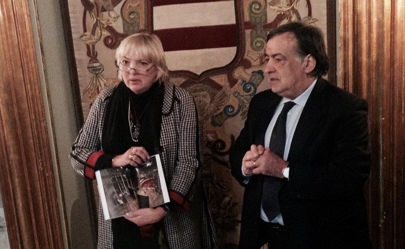 Palermo, incontro fra Orlando e la leader dei Verdi tedeschi