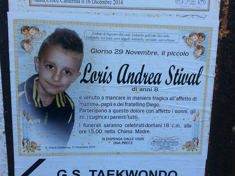 """Omicidio Loris, 6 anni dopo il padre e il fratellino lo ricordano: """"Occupi mente e cuore, posti dove rimarrai sempre"""""""