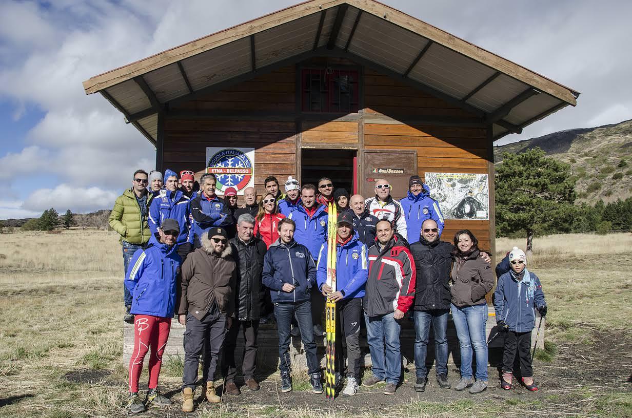 Belpasso, inaugurata la prima scuola di sci