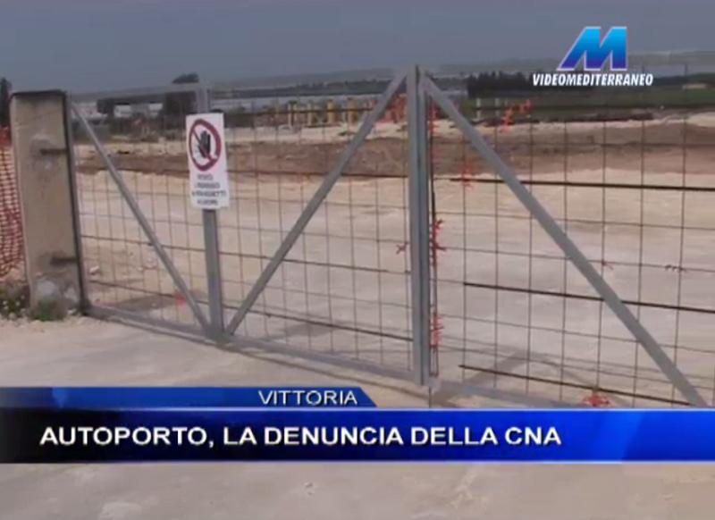 Vittoria, l'autoporto è destinato a restare un'area desolata: denuncia CNA