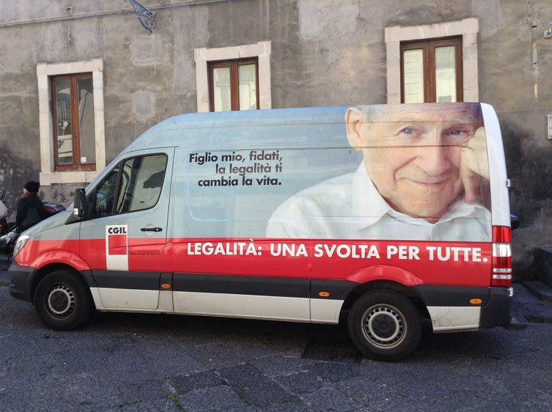 Oggi la Carovana della Cgil fa tappa a Palermo: si conclude il viaggio siciliano della legalità