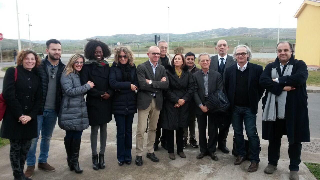 Al Cara di Mineo delegazione del Governo francese