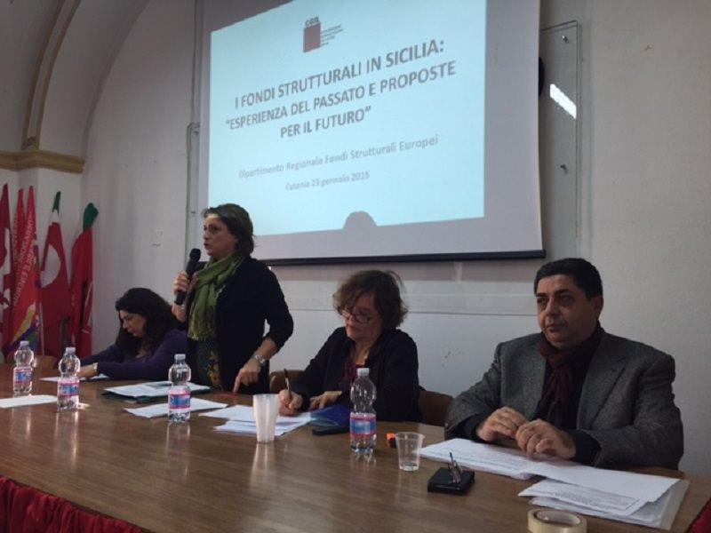 Catania, seminario Cgil su fondi mai spesi e fondi in arrivo