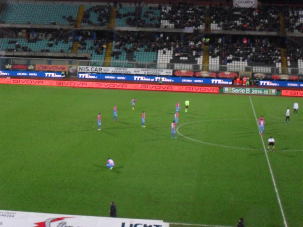 Catania, a Pescara per incamerare i punti persi lunedì