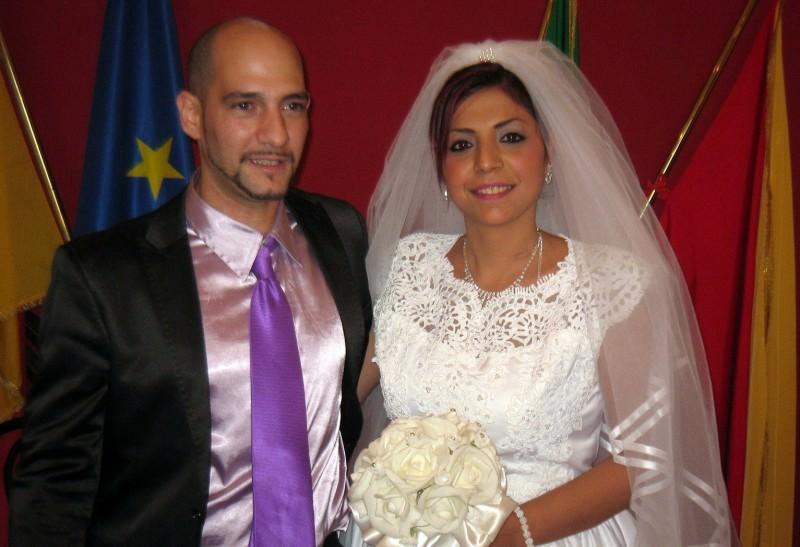 Lei Rom e figlia dell'Imam, lui cattolico. Oggi sposi a Palermo