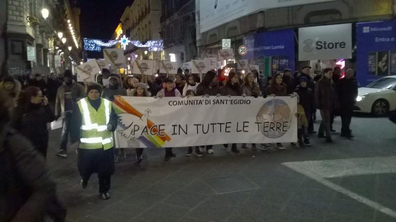 """Catania: grande partecipazione alla """"Marcia per la Pace"""""""
