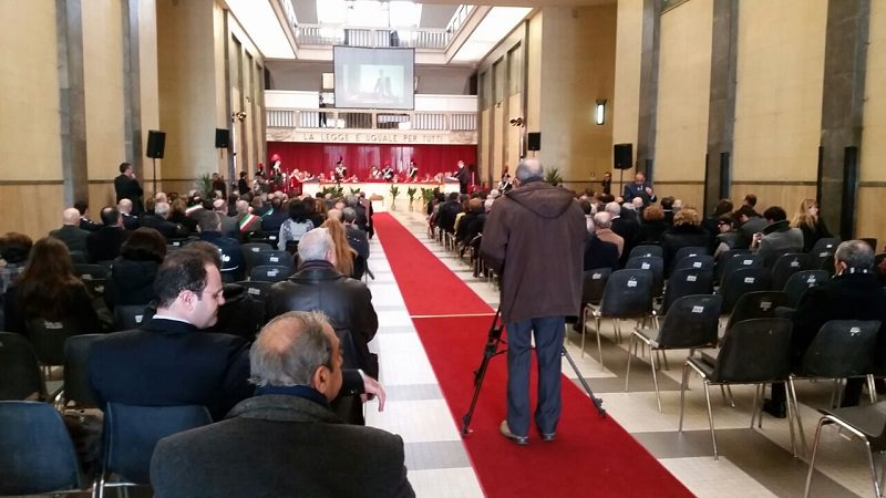Oggi cerimonia di inaugurazione dell'anno giudiziario