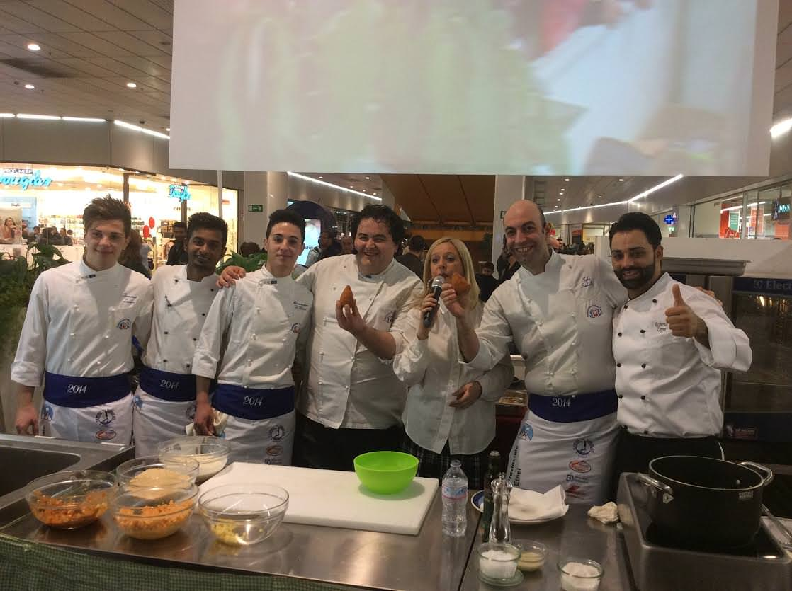 Catania, arancino a quattro mani per gli chef Esposito e Sorbello